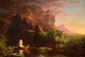 cole_thomas_the_voyage_of_life_childhood_1842