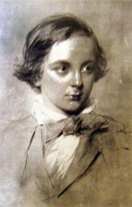 Dickens as a boy
