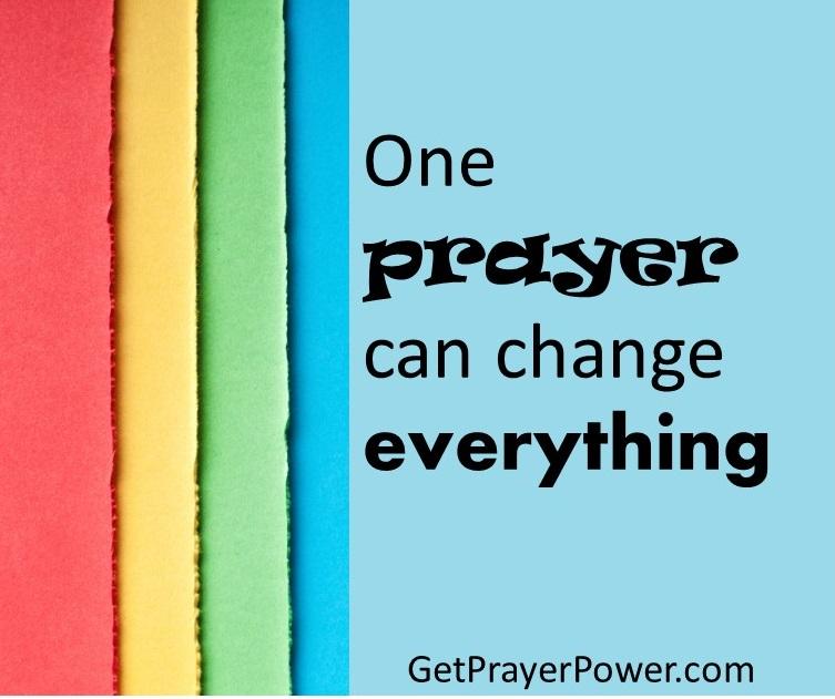 School of Prayer – Ideas for success